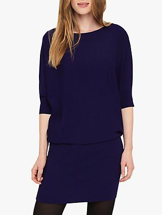 Phase Eight Becca Batwing Dress, Purple