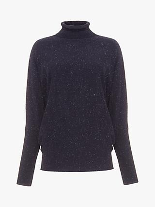 Phase Eight Becca Fleck Jumper, Navy