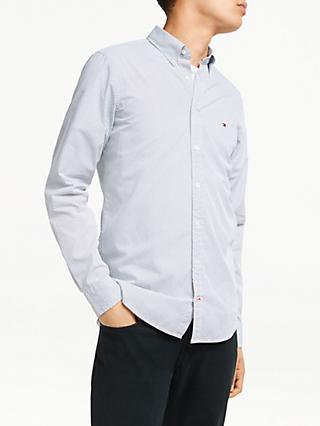 ea5323eb Tommy Hilfiger Long Sleeve Slim Fit Micro Dot Shirt
