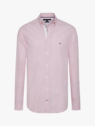 4f2ddf381 Tommy Hilfiger Long Sleeve Slim Fit Micro Dot Shirt