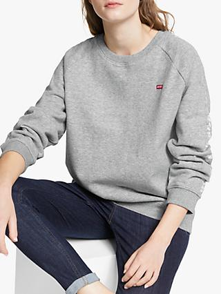 16cbceff6b8 Levi s Relaxed Crew Neck Sweatshirt
