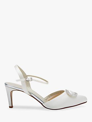 Rainbow Club Etta Slingback Sandals, Ivory