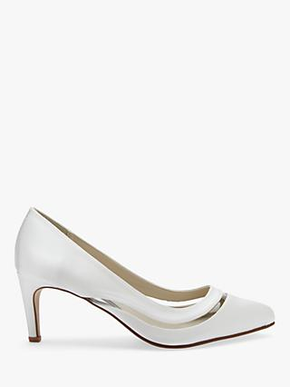 Rainbow Club Sofia Court Shoes, Ivory