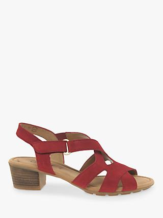 61e3f0a7cc24 Gabor Harris Cross Over Strap Sandals