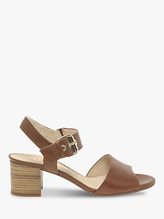e2769a8478b Gabor Brace Wide Fit Block Heel Strap Sandals