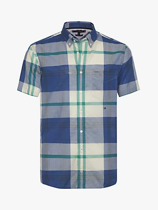 ccccf8dec536ae Tommy Hilfiger Blown Up Madras Check Shirt