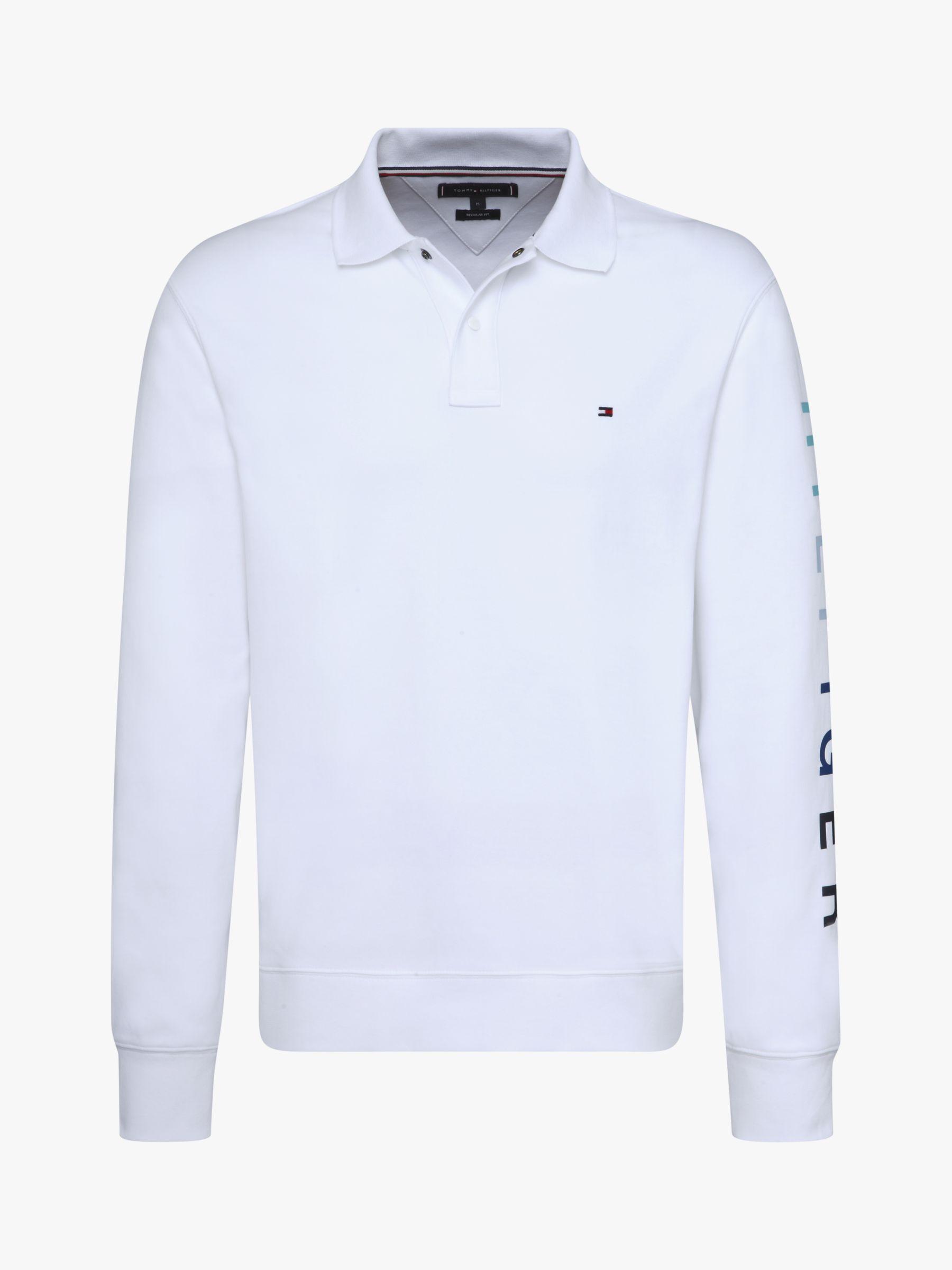 Tommy Hilfiger Boys Sleeve Text Polo S//S Shirt