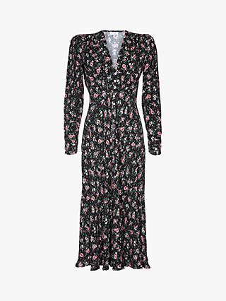 a3c75c3202 Ghost Birdie Floral Midi Dress
