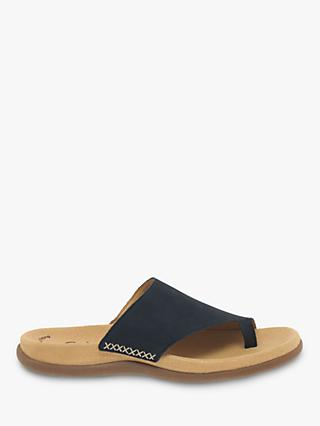 cdb7288c3e7cd1 Gabor Lanzarote Toe Post Flat Sandals