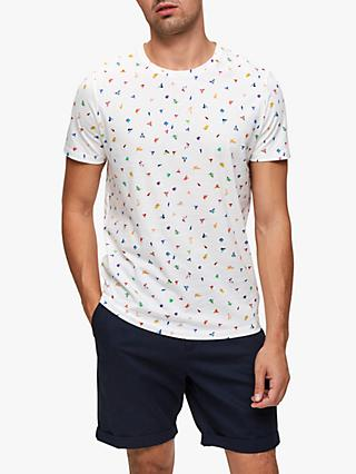 cdb230f81 SELECTED HOMME Confetti Print T-Shirt
