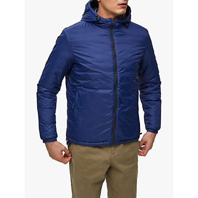 SELECTED HOMME Reversible Padded Jacket, Blueprint