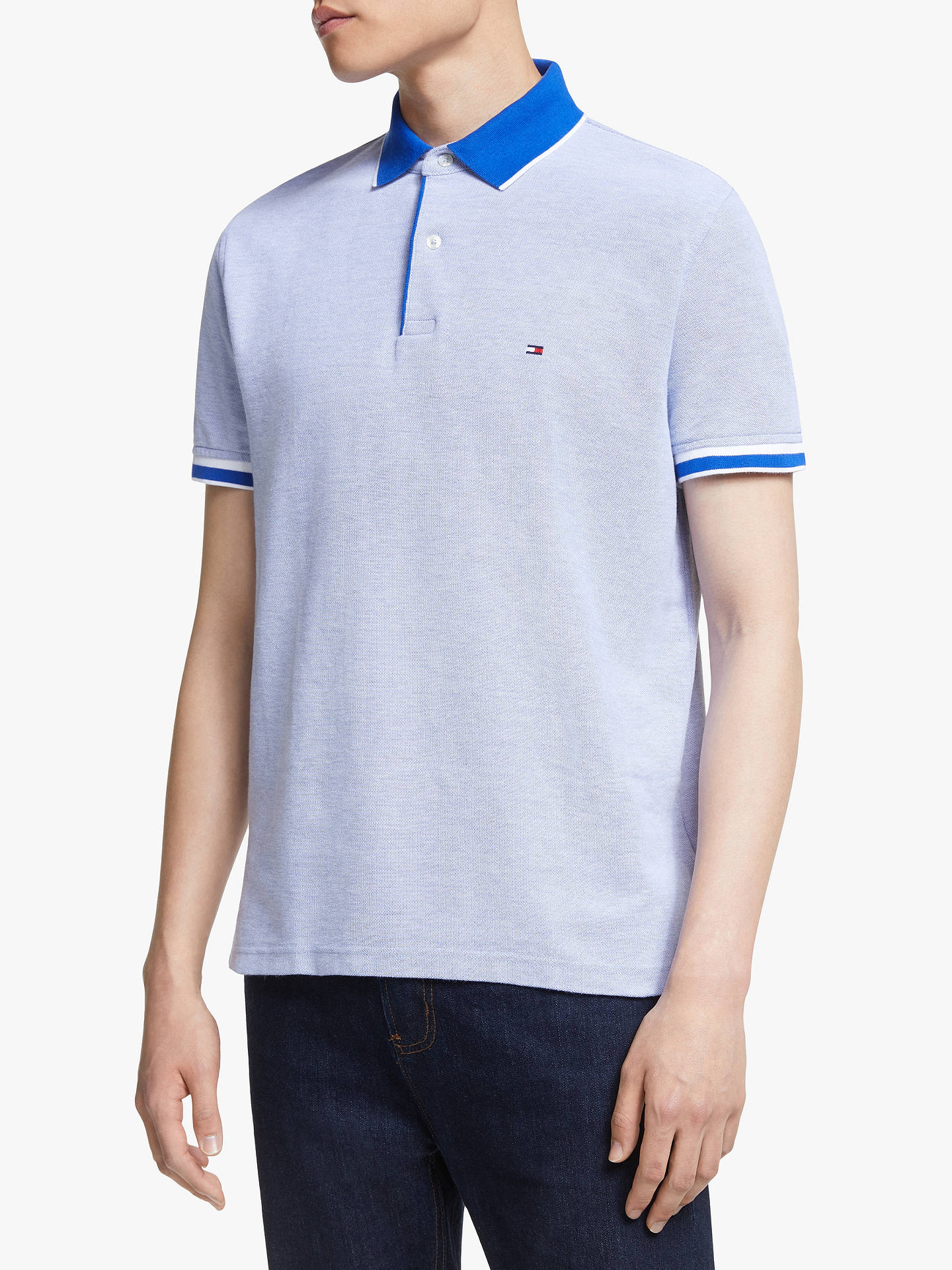 2a8ee45f6 Buy Tommy Hilfiger Slim Fit Oxford Polo Shirt