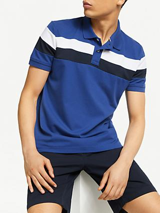 7b37c4992b57f1 Tommy Hilfiger Chest Stripe Slim Fit Polo Shirt