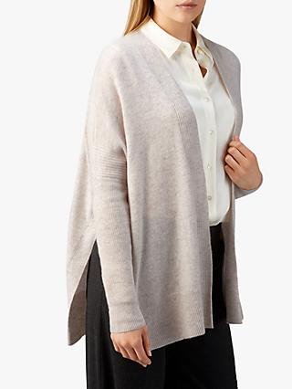 Pure Collection Cashmere Cardigan, Marble