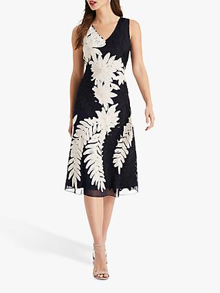 Phase Eight Denise Tapework Lace Fit and Flare Dress