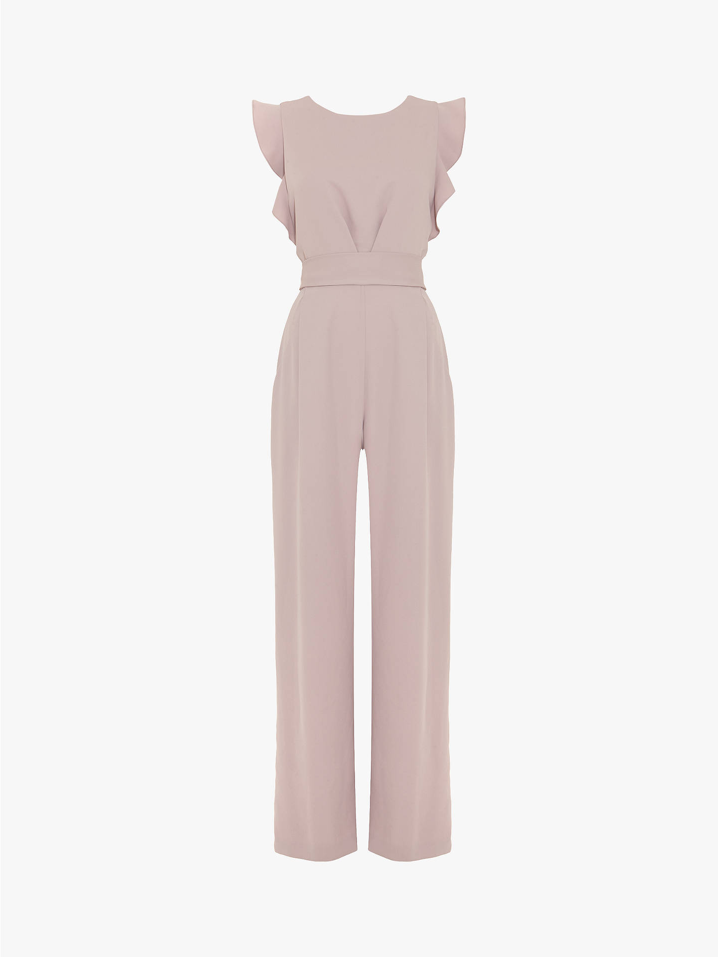 Buy Phase Eight Victoriana Jumpsuit, Misty Mauve, 18 Online at johnlewis.com