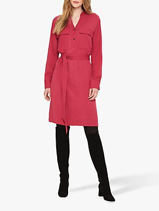 Phase Eight Matilda Shirt Dress, Blackcurrant