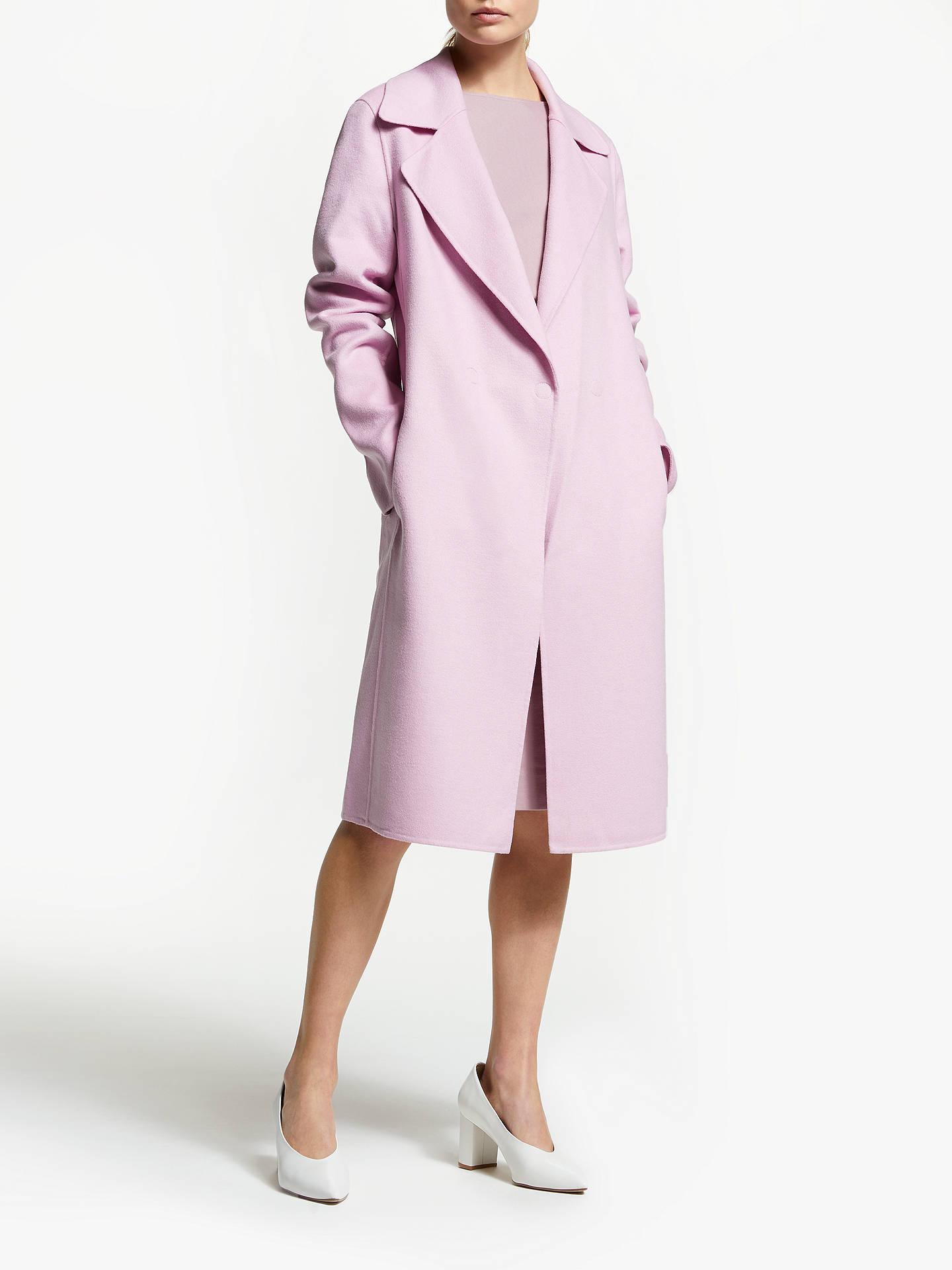 74079ee86a Winser London Lauren Wool Blend Coat, Lavender Pink