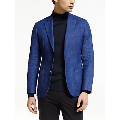 J.Lindeberg Hopper Suit Jacket, Work Blue
