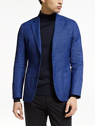 J.Lindeberg Hopper Suit Jacket, Work Blue