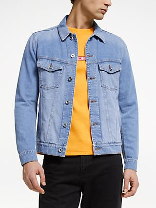 J.Lindeberg Denim Jacket, Light Blue