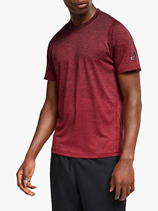 adidas FreeLift 360 Gradient Graphic Training T-Shirt, Active Maroon