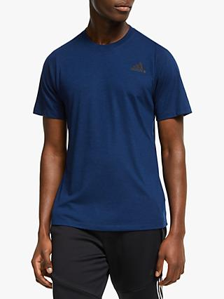 adidas FreeLift Sport Prime Heather T-Shirt, Collegiate Royal