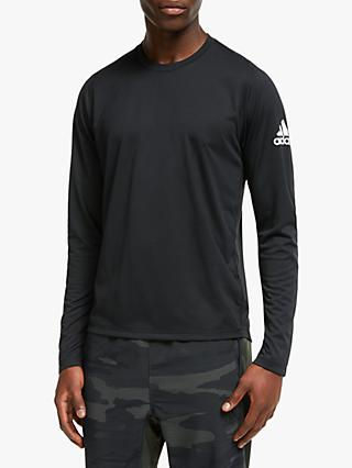 adidas FreeLift Solid Badge of Sport Training Top, Black