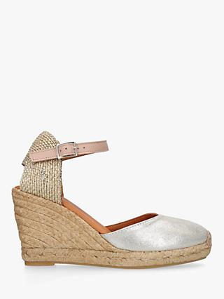 Kurt Geiger London Monty Wedge Heel Espadrilles
