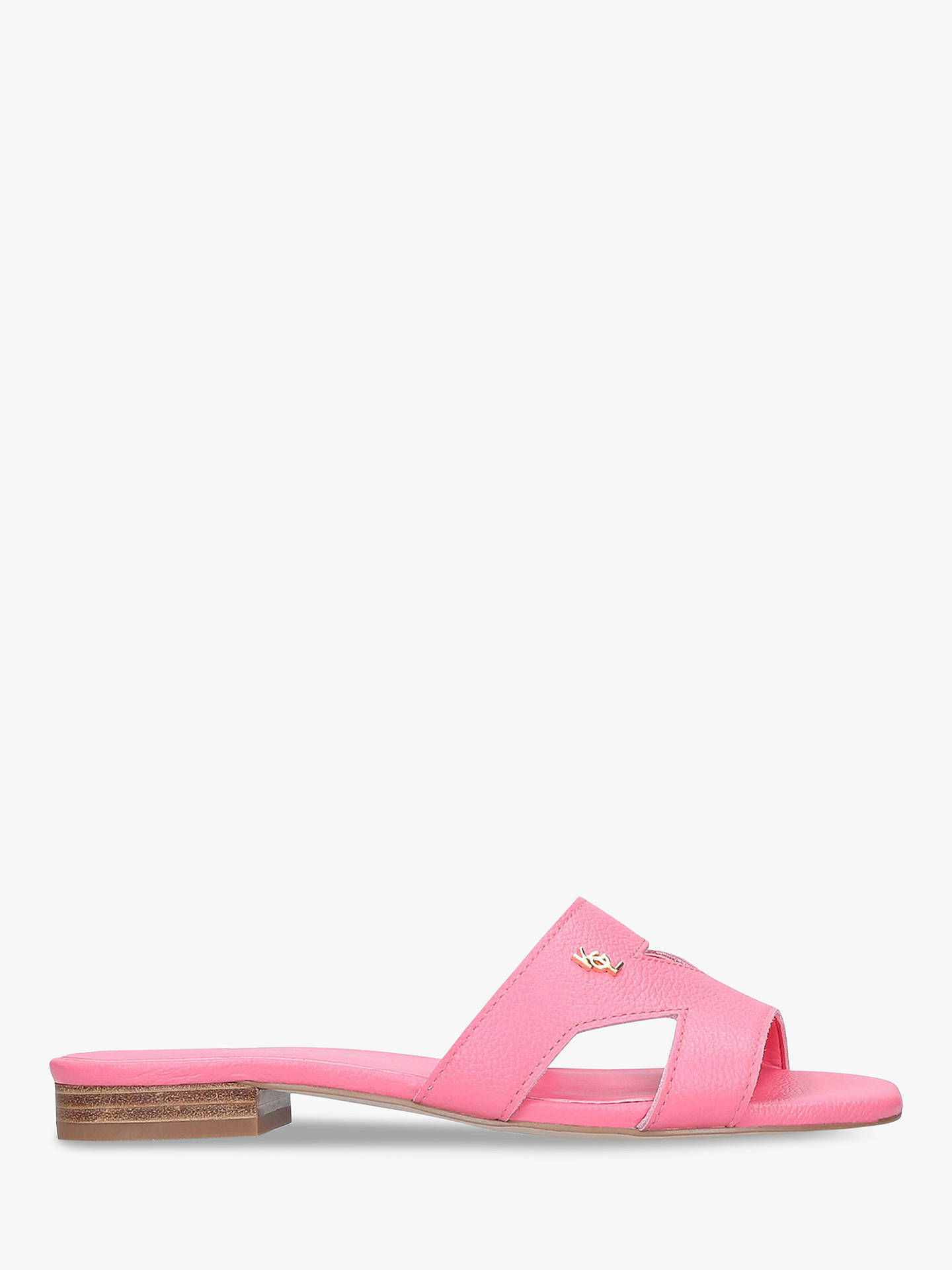 b4c388dcc18 Kurt Geiger London Odina Slip On Sandals, Mid Pink Leather