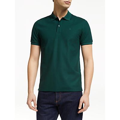 J.Lindeberg Short Sleeve Logo Polo Shirt, Ivy Green