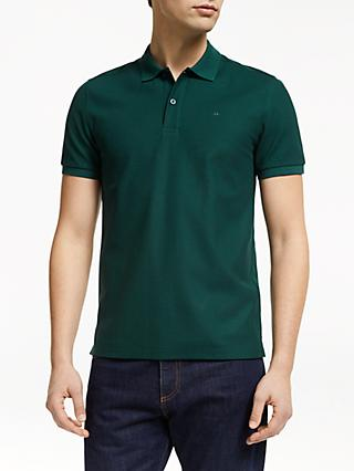 J.Lindeberg Short Sleeve Logo Polo Shirt, Ivy Green