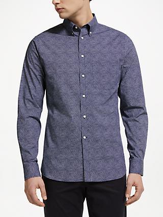 97c80a2776 J.Lindeberg Daniel Poplin Print Shirt