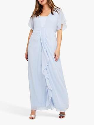 Studio 8 Olympia Maxi Dress, Pale Blue