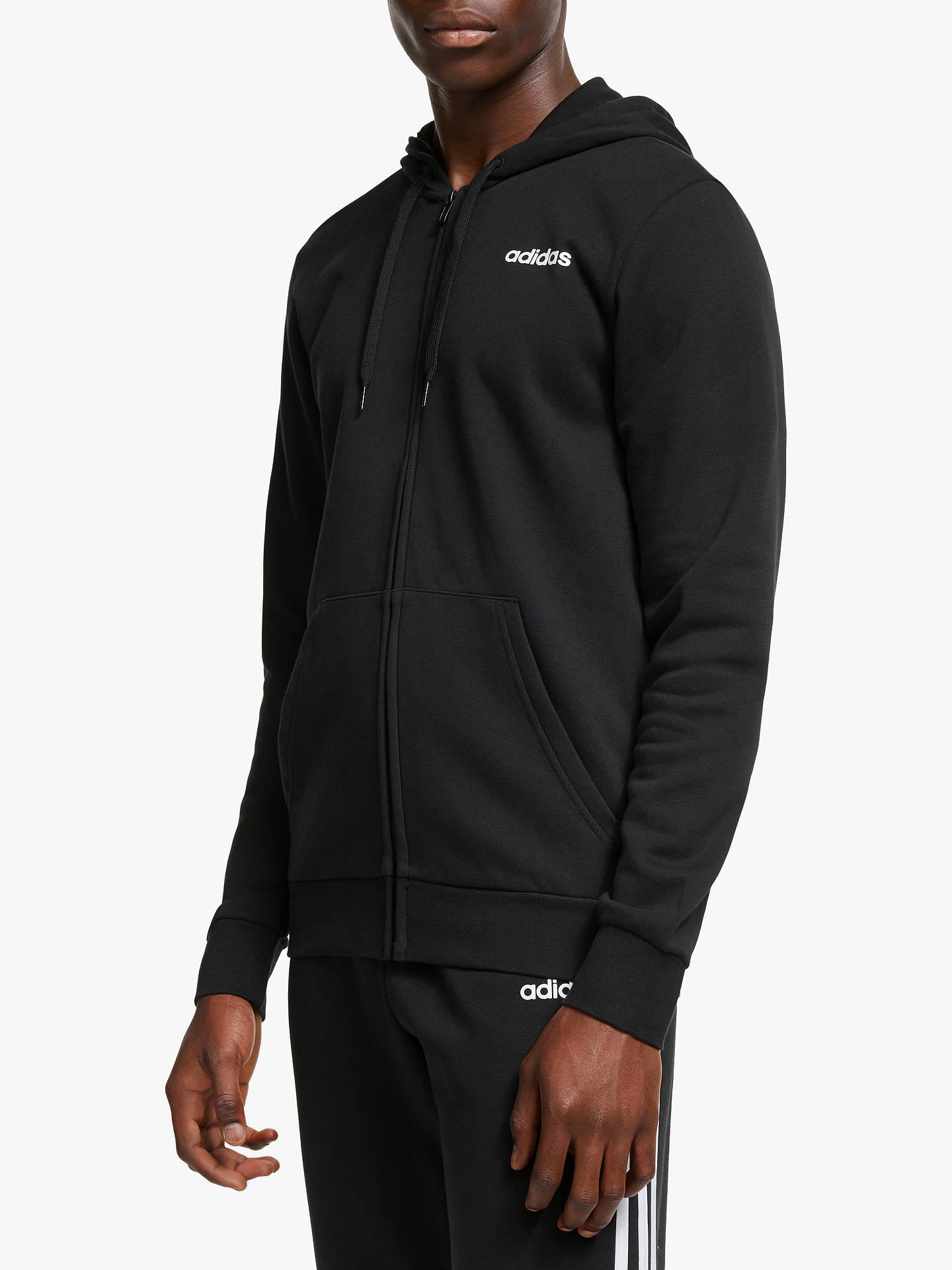 adidas Linear Zip Hoodie Mens
