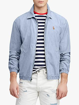 44f9bfff2b3 Polo Ralph Lauren Bayport Chambray Windbreaker