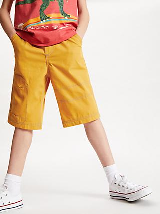 John Lewis & Partners Boys' Pull On Shorts, Mid Yellow