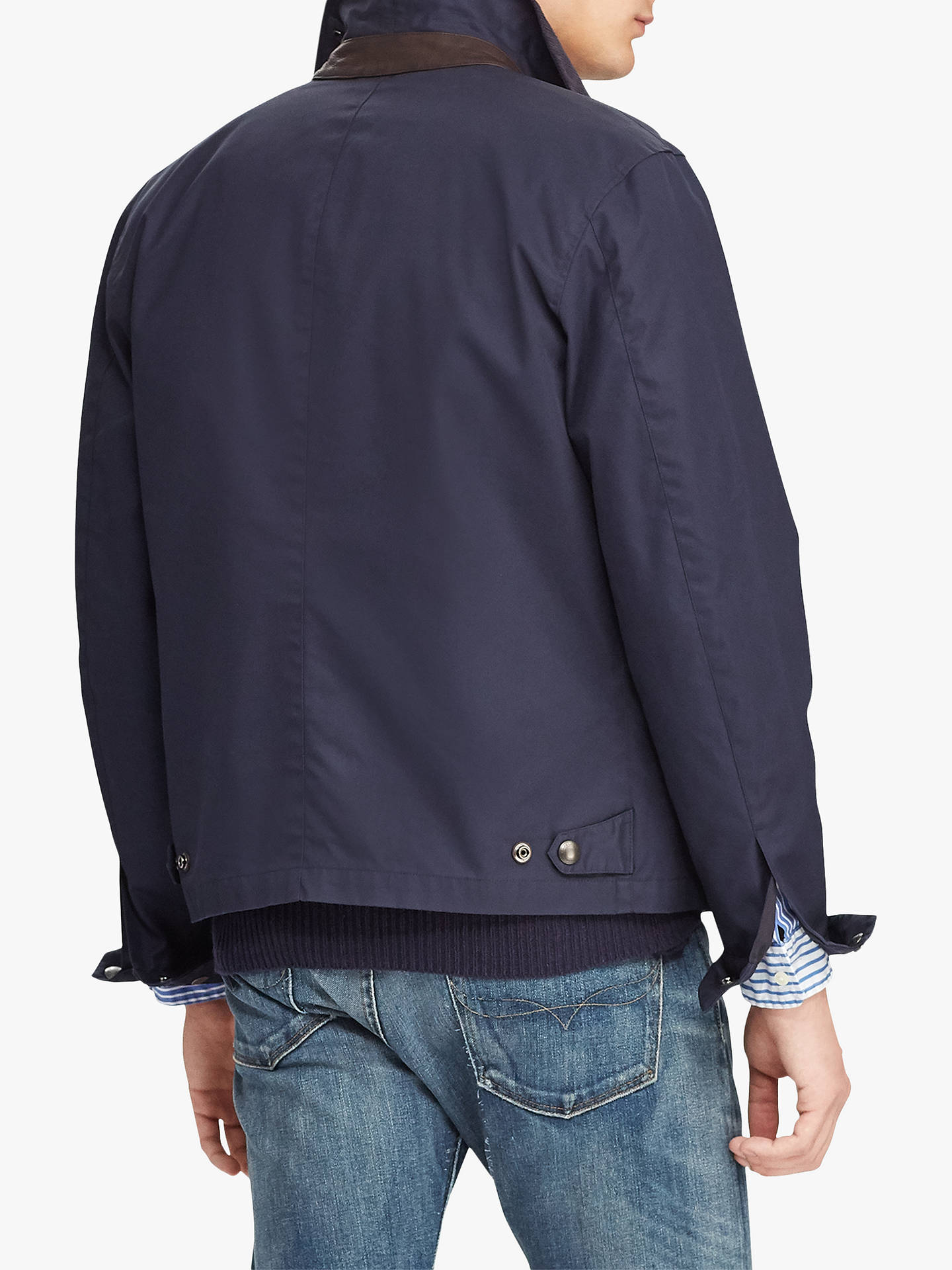 Navy Ralph Lauren Collar Twill Polo Corduroy JacketAviator fg7Ybyv6