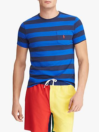 Polo Ralph Lauren Stripe Pocket Short Sleeve T-Shirt