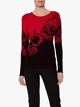 Gina Bacconi Anya Jumper, Red