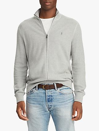 Polo Ralph Lauren Pima Cotton Zip Sweater