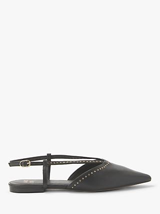 AND/OR Gill Stud Slingback Pumps