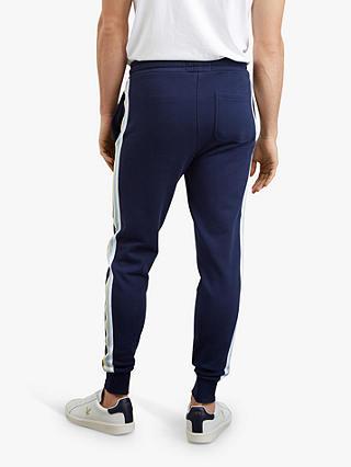 Lyle /& Scott Mens Side Stripe Skinny Sweatpant Sports Jogger