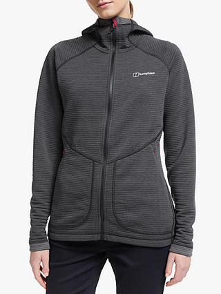 Buy Berghaus Redonda Hooded Jacket, Black/Carbon, 8 Online at johnlewis.com