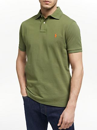 47166c0057db3a Polo Ralph Lauren Short Sleeve Custom Slim Fit Mesh Polo Shirt