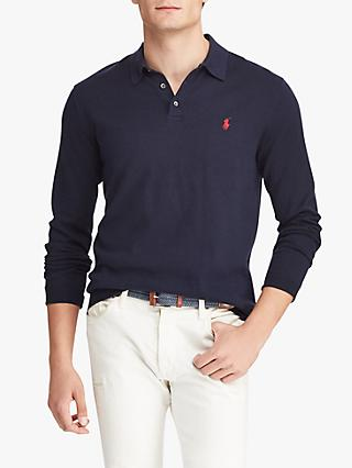 Polo Ralph Lauren Long Sleeve Knitted Polo Shirt