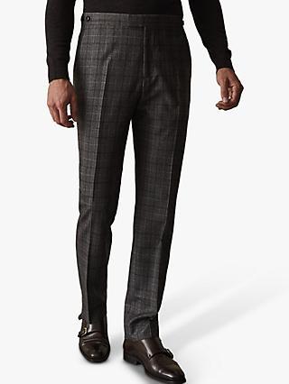 6d0952df3d9 Reiss Boris Check Slim Fit Suit Trousers