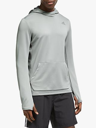 adidas Own The Run Hoodie, MGH Solid Grey