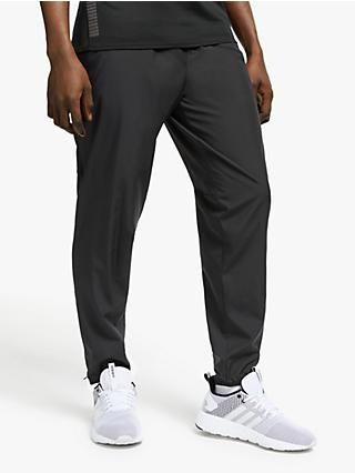 adidas Own The Run Astro Wind Tracksuit Bottoms, Black