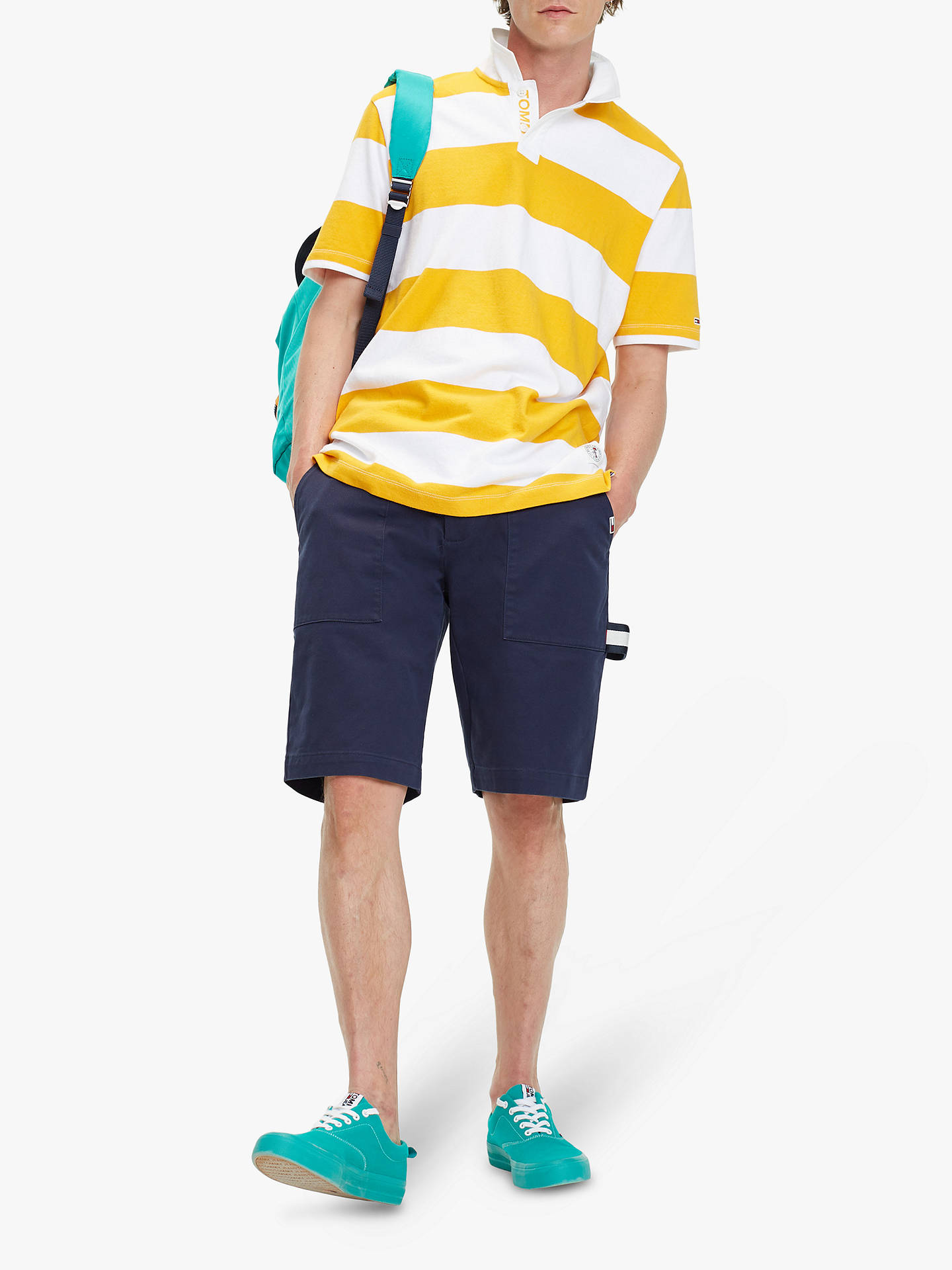 Tommy Jeans Stripe Block Rugby